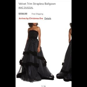 MacDuggal Dress ballgown